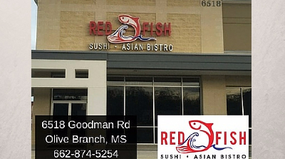 Red Fish Sushi Asian Bistro Olive Branch